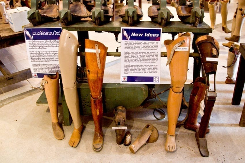 COPE now uses durable polypropylene to make prostheses in its workshops