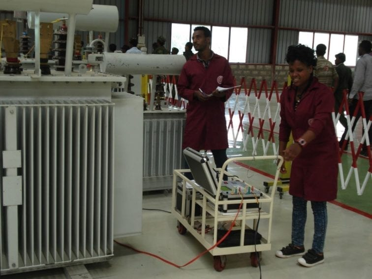 The transformers undergo safety tests before being shipped. According to Yohannes, the transformers Ethiopia imported from India were of such poor quality they would frequently explode