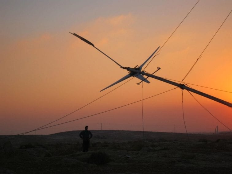 The team often erect turbines at night to avoid confrontation with the Israeli authorities who have previously halted installations. The region, also known as South Mount Hebron, is ideally suited for wind energy: in the afternoon, as the sun goes down, the wind picks up
