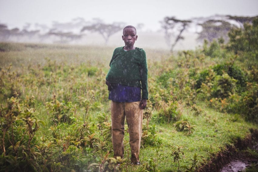 The Maasai in the Ngorongoro district of northern Tanzania are vulnerable to climate change. Global warming has increased the incidence of drought in East Africa. The 2016 El Niño was particularly devastating with severe drought followed by unexpectedly heavy early rains, increasing outbreaks of human and animal disease