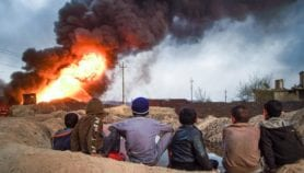 Black-sky pollution: Iraqis face legacy of 'ISIS Winter'