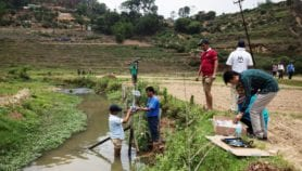 Timely flood warnings for downstream Nepal and India