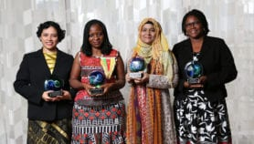 Prize awarded to women scientists from developing world
