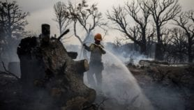 Wildfire sparks clash over controlled burning