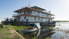 Riverboats help get remote parts of Amazon online