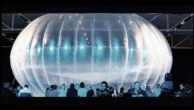 Internet balloons take to the sky