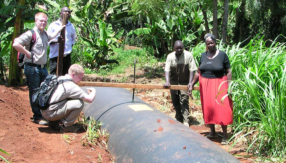 Biodigester in Kenya - MAIN