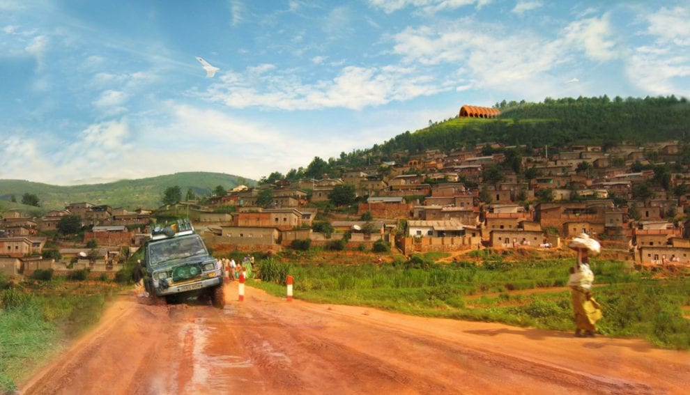 Only a third of Africans live within two kilometres of an all-season road, and many countries don't have the money for bridges, tunnels and railways they need. Rwanda only has just over 1,000 paved roads, in addition to nearly 4,000 dirt roads. Drones are a cheap, fast alternative.