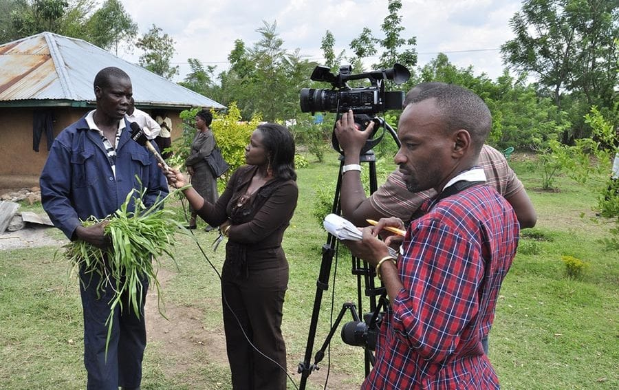 CLimate change africa journalist