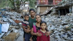 Post-quake Nepal vulnerable to geohazards