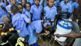Handwashing with soap slashes gut worm infections