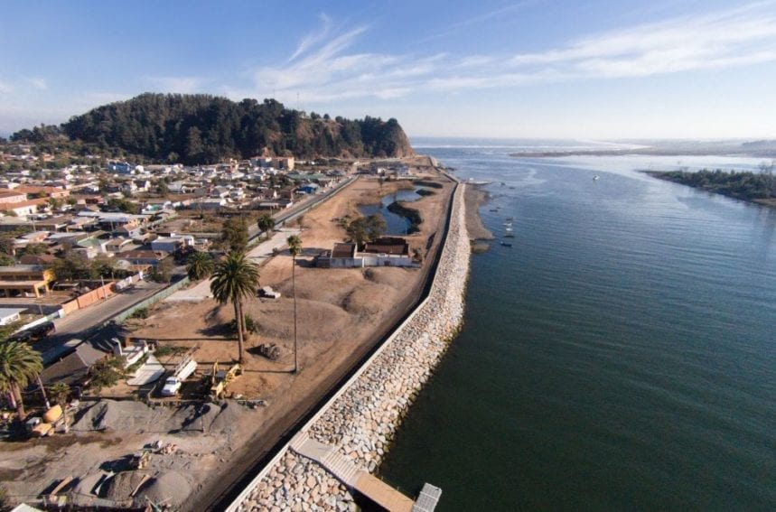 Part of the post-tsunami reconstruction plan for earthquake-affected Constitución, Chile