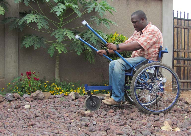 Leveraged wheel chair_engineering for change