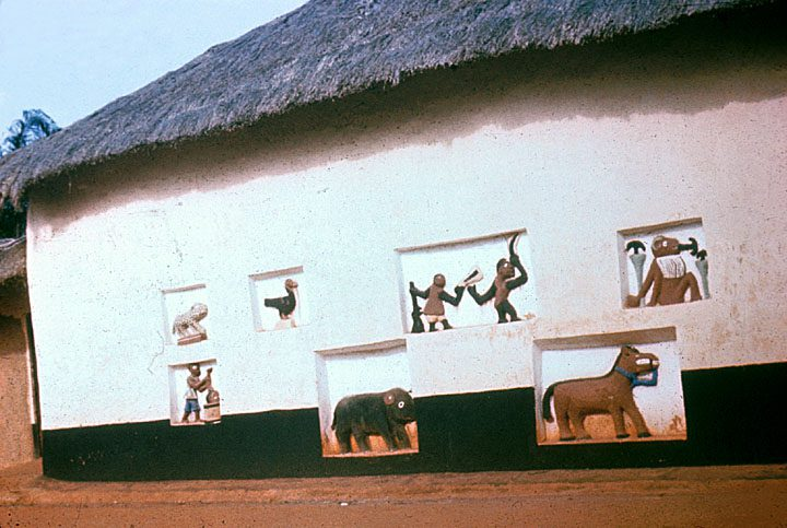 Relief Figures on Wall of Palace in Abomey University of Wisconsin-Madison African Studies Program.jpg