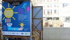 Pee-powered toilet designed to keep refugees safe