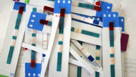 HIV-test kits given to women boost testing in men