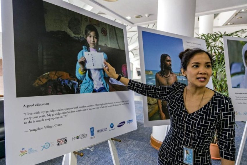 More than 80 per cent of the voters responded through face-to-face polls (as did the girl pictured in the poster). This way, even people with no access to the internet were able to participate.