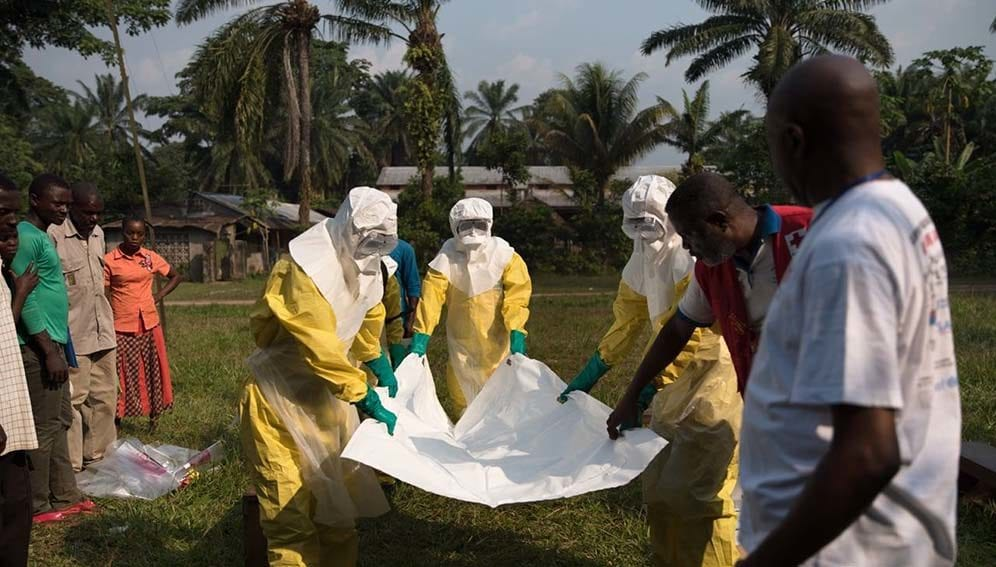 Ebola outbreak in DRC - Training Pic