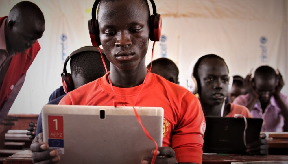 A chance for South Sudanese children to attend school again