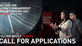 Falling Walls Engage 2021: Become the Breakthrough of the Year in Science Engagement
