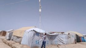 'Intranet' rescues education in Syrian refugee camps