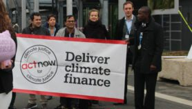 Climate finance 'critical for developing countries' at COP26