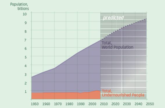 Global population and hunger