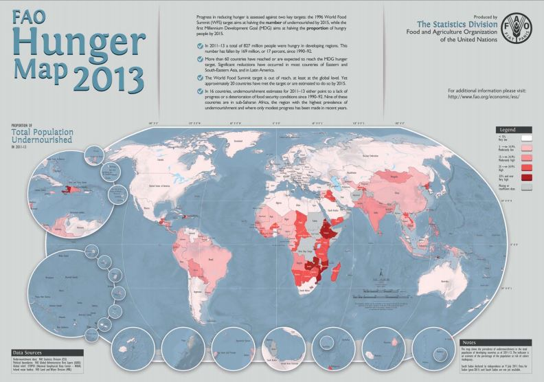FAO Hunger Map 2