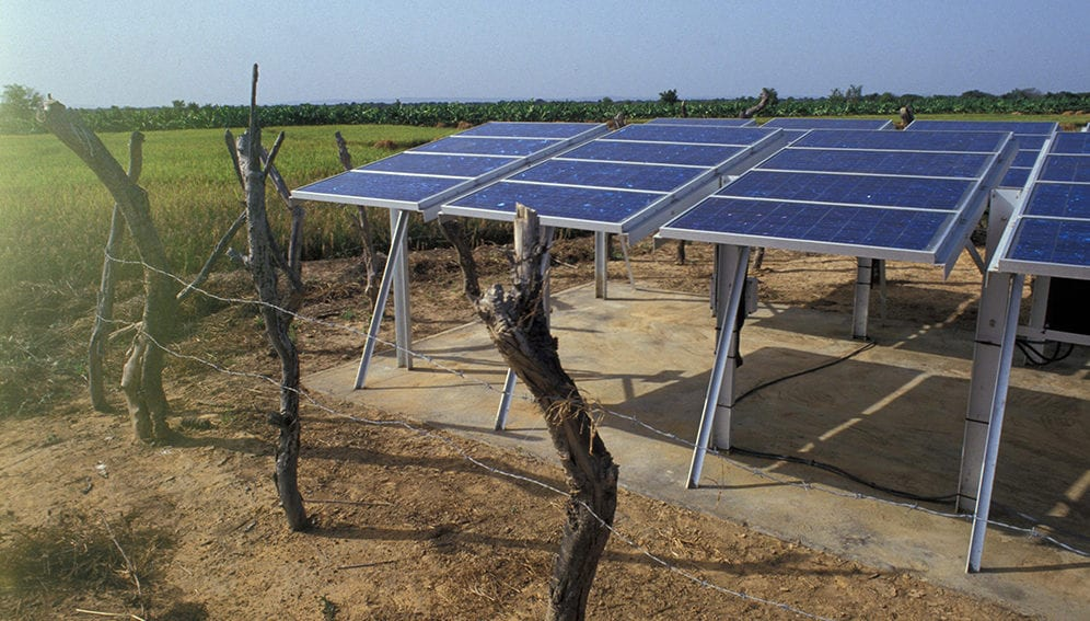 Solar farm in Mali - MAIN