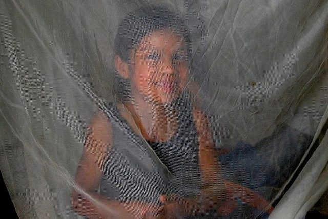 girl in mosquito net_Pan American Health Organization_Flickr