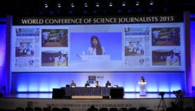 Science journalists hold world conference in Seoul