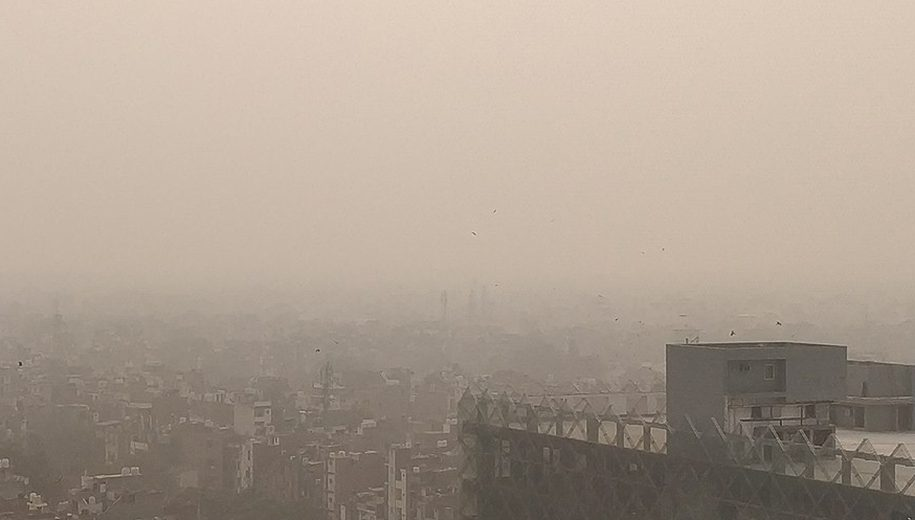 Air pollution in Delhi - main