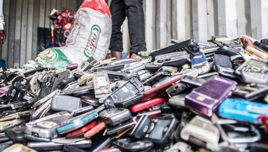 discarded phones