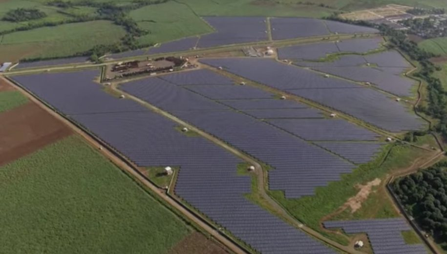 islaSol II, a photovoltaic power station in the Philippines