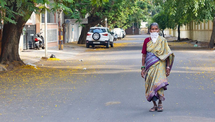 woman in Bengaluru
