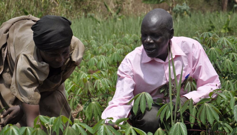 A farmer and a researcher