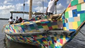 Dhow made from plastic waste completes maiden voyage