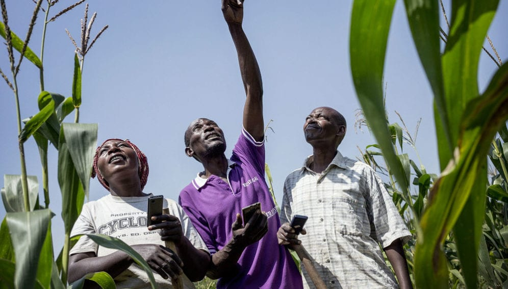 explaining to farmers how to use information on climate