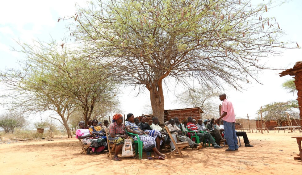 Smallholder farmers in a remote, arid and impoverished region of Kitui County of Kenya have been losing up to about 80 per cent of their harvests due to drought related impacts