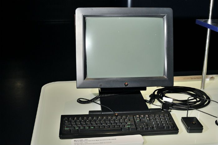 One of the first two web servers for the internet