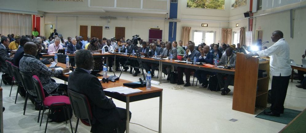 Participants at the  Technologies for Africa Agricultural Transfromation