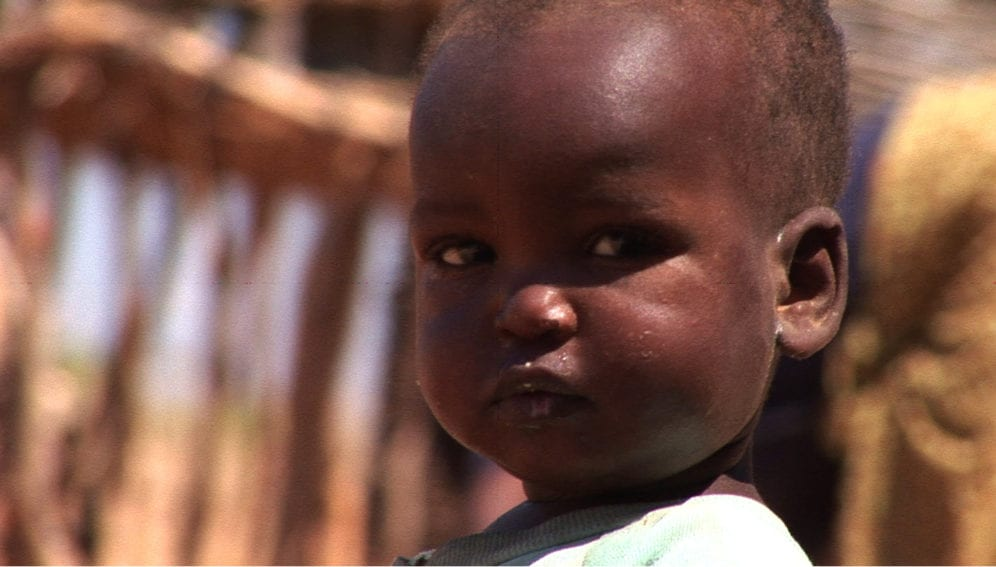 The malaria toll is heaviest among young children