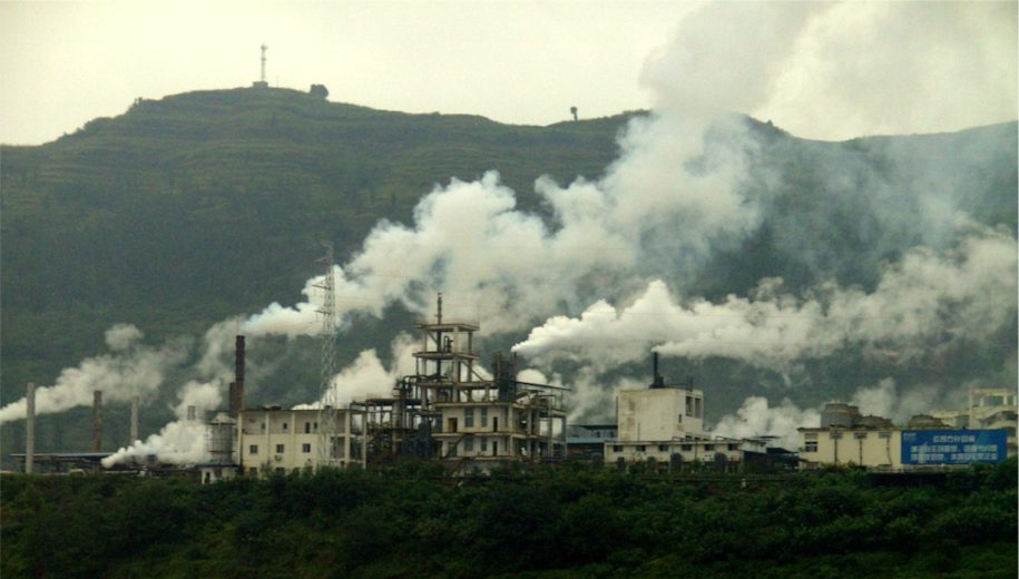 pollution in China - main