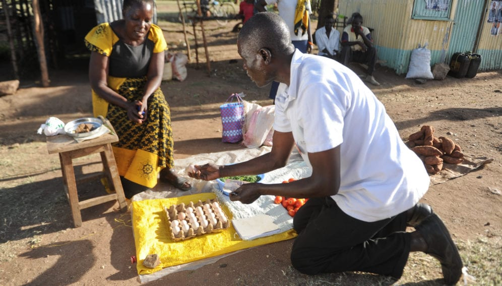 Poultry activities in Lower Nyando