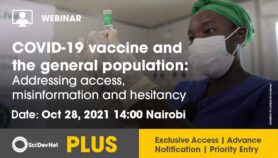 Debate: COVID-19 vaccine and the general population: Addressing access, misinformation and hesitancy