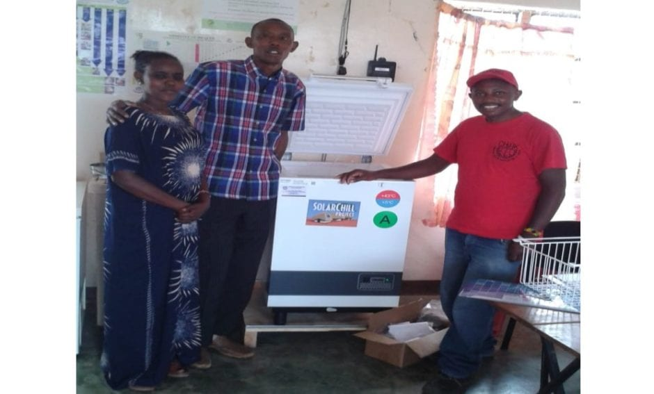 Solar fridges can be used to chill Covid-19 shots in rural Africa