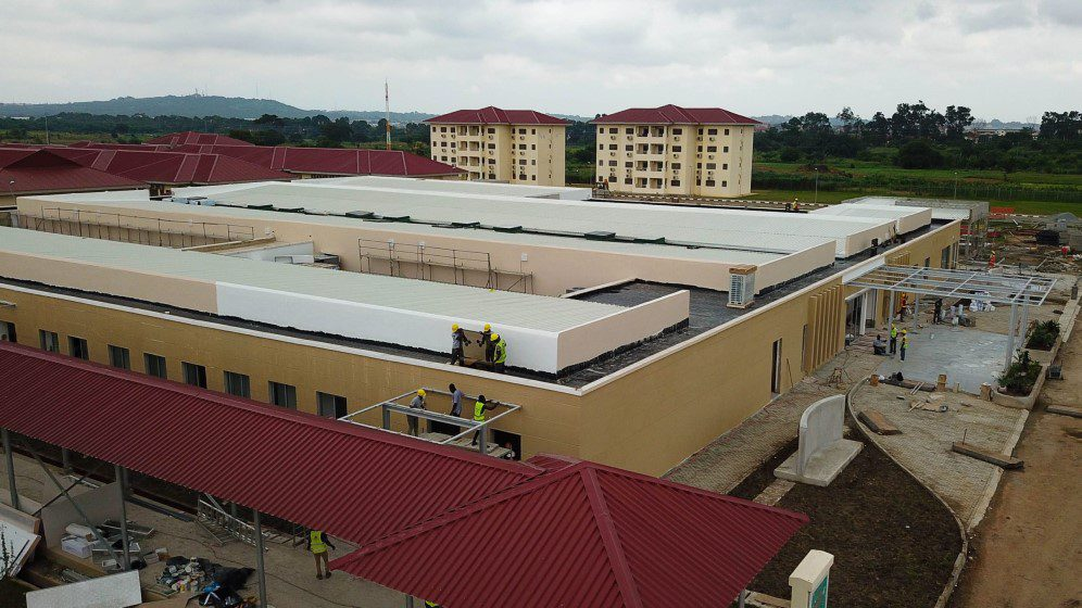 100-bed infectious disease facility in Ghana
