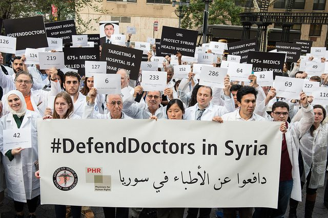Defend Doctors in Syria
