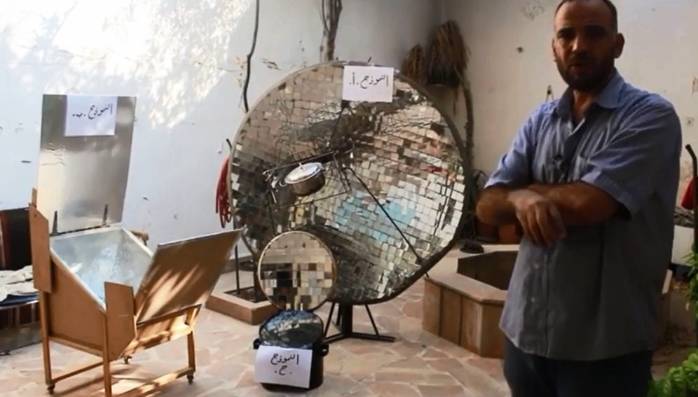 Syrian designs for renewables