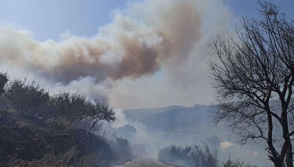 Syria fires